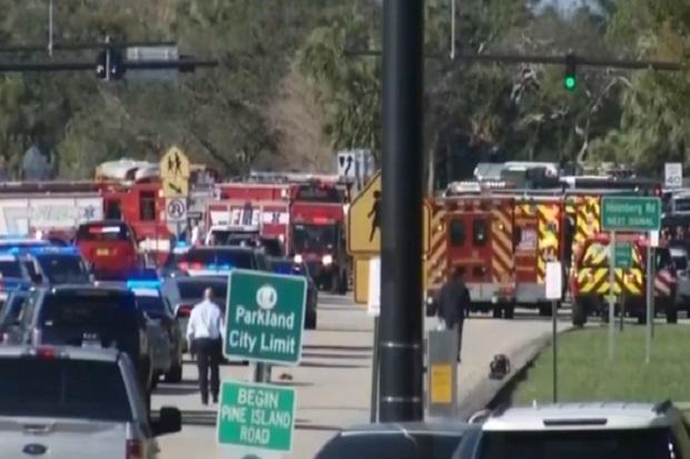 Mengerikan, Video Mencekam Penembakan Massal SMA Florida, Para Siswa Gemetar
