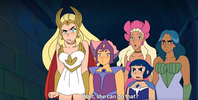 masters del universo HISTORIA DE SHE-RA