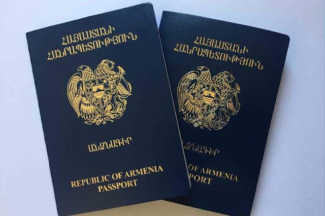 Pasaporte armenio sigue vigente hasta 2021