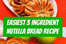 Easiest 3 Ingredient Nutella Bread #nutella #bread #easysnack #snack