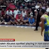 "VIDEO: Calvin Abueva spotted playing in ""Ligang Labas"""