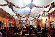 (GKII) jemaat laodekia Jayanti Nabire merayakan ibadah natal.