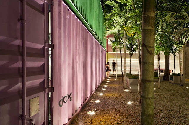 Decameron - Low Budget Colorful Shipping Container Store, Brazil 15