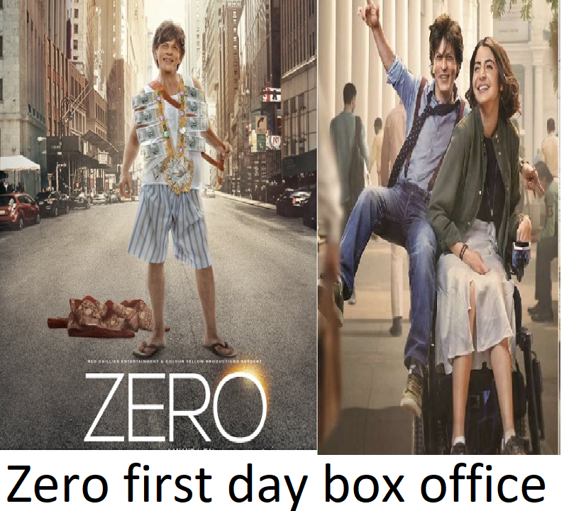 zero opening day box office collection,2.0 opening day box office collection