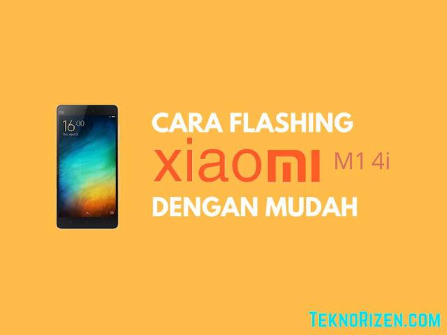 yang terdapat sistem Android kerapkali terdapat masalah yang sama yaitu bootloop Tutorial Flash Xiaomi Mi 4i Bootloop Dengan Gampang