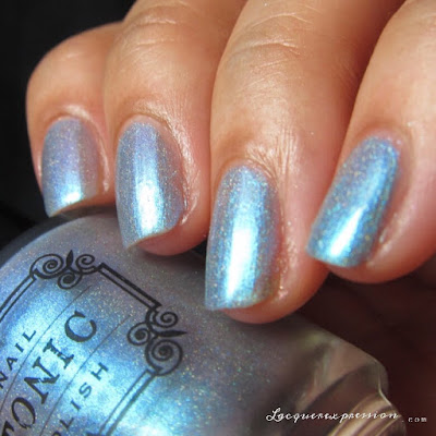 nail polish swatch of Luminescent from the Tonic Polish Holiday 2016 Collection