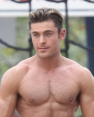 Beautiful Hairy Men: Zac Efron