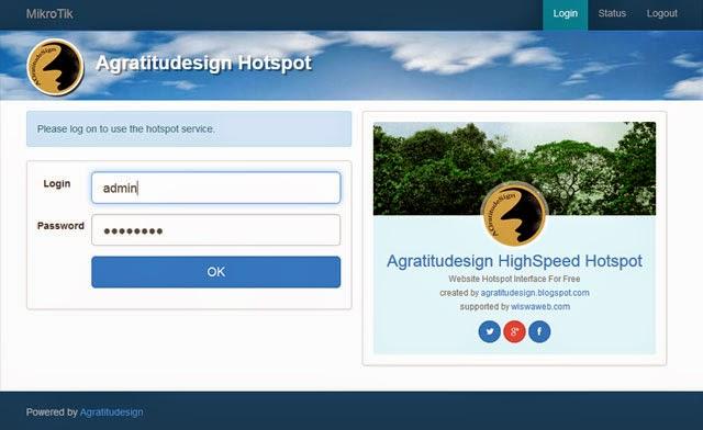 Creating internal hotspot web interface login page mikrotik using agratitudesign hotspot pronofoot35fo Choice Image