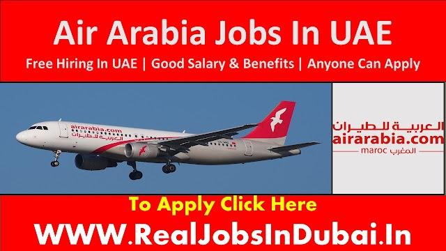 Air Arabia Jobs Vacancies Availalbe In UAE 2020