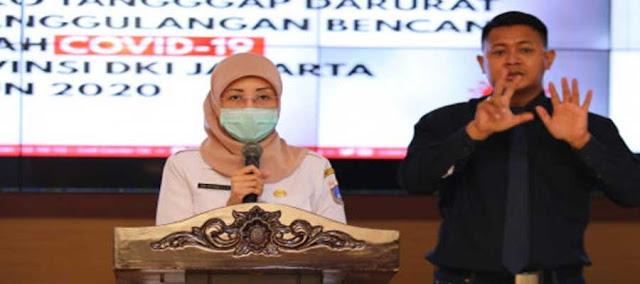 Update Corona Jakarta : Terdapat Penambahan Kasus Positif Sebanyak 416 Kasus