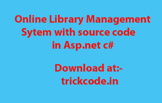 Library Management System Project in C# Source Code
