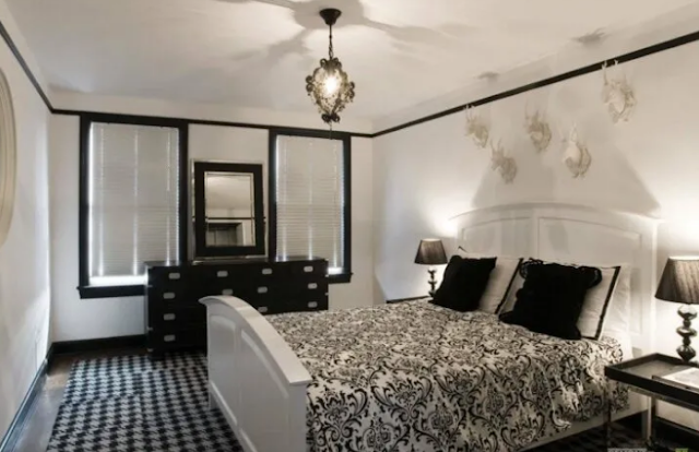 11. Gothic bedroom ideas for girls