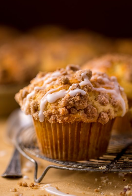 Bakery-Style Coffee Cake Muffins