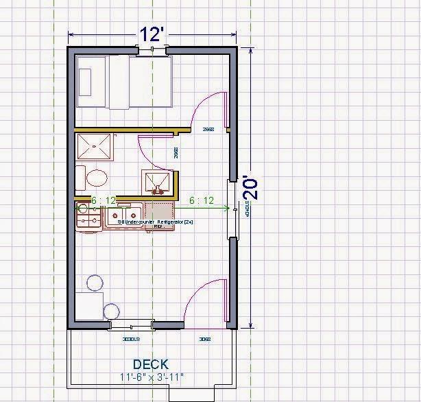 Friesen 39 s cabin journal for 12 x 12 cabin floor plan