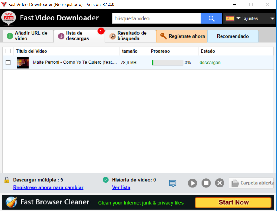 Fast Video Downloader 3.1.0.60