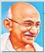 5 Lines on Mahatma Gandhi in Hindi