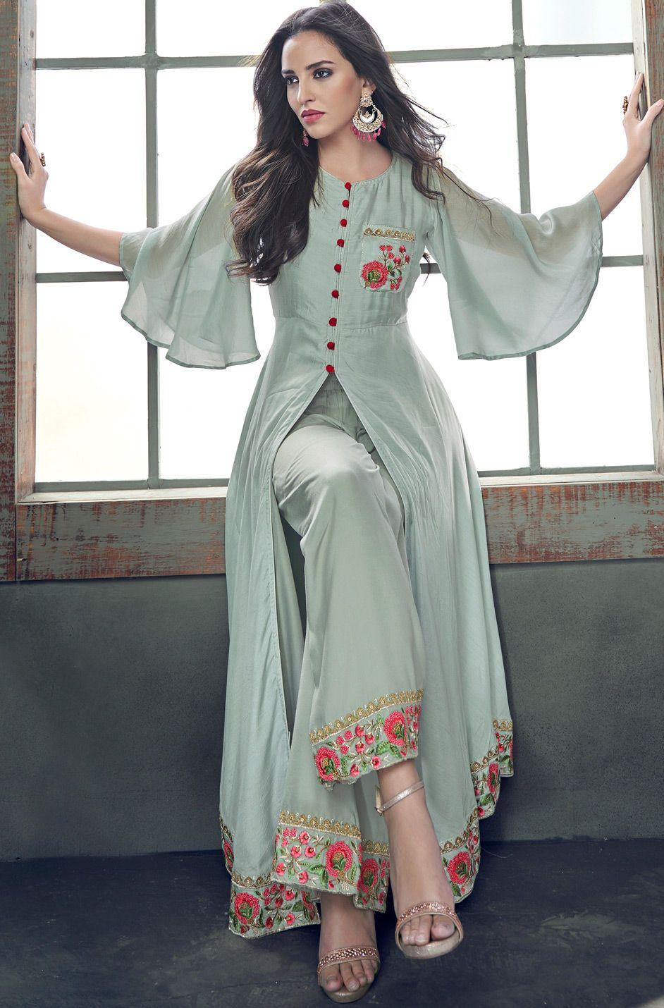 Modern Slit Salwar Suit