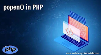 PHP popen() Function