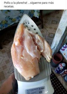 Síganme para más recetas pollo a la plancha en plancha de planchar