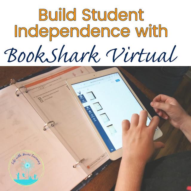 BookShark Virtual fosters independence in homeschool students.