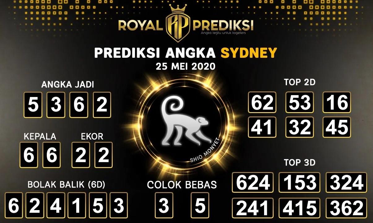 Prediksi Sydney Senin 25 Mei 2020 - Royal Prediksi