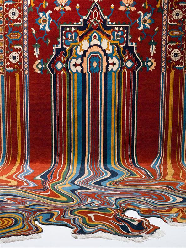 Alfombras contempor neas defectuosas a partir de los tradicionales textiles azerbaiyanos por - Alfombras contemporaneas ...