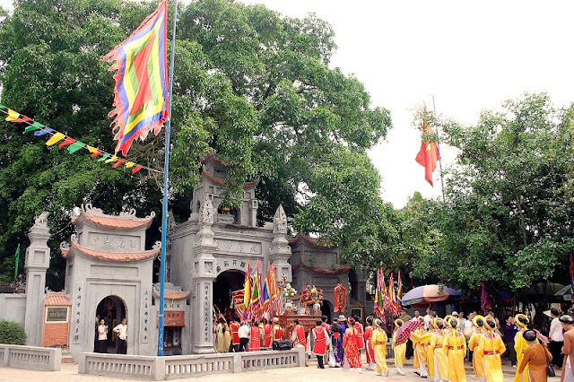 The seal ceremony of Tran Temple in Nam Dinh City 2