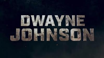 Dwayne Johnson Text Name Picture