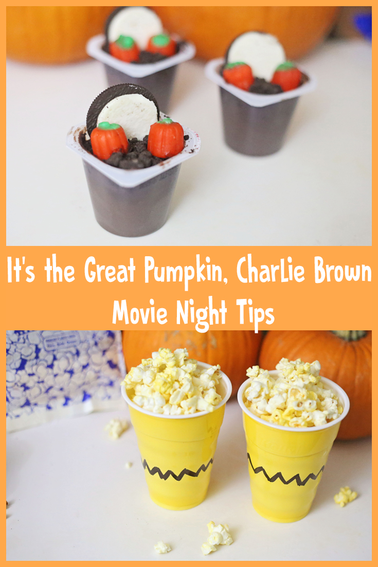 Three simple tips for an It's the Great Pumpkin, Charlie Brown movie night
