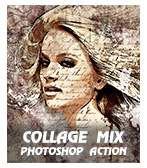 \ comi - Concept Mix Photoshop Action