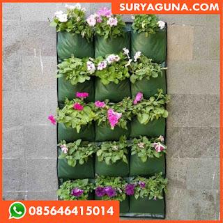 Green Wall Planter Bag 15 Kantong