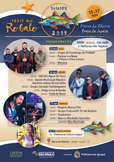 Festa do Robalo 2019 em Iguape