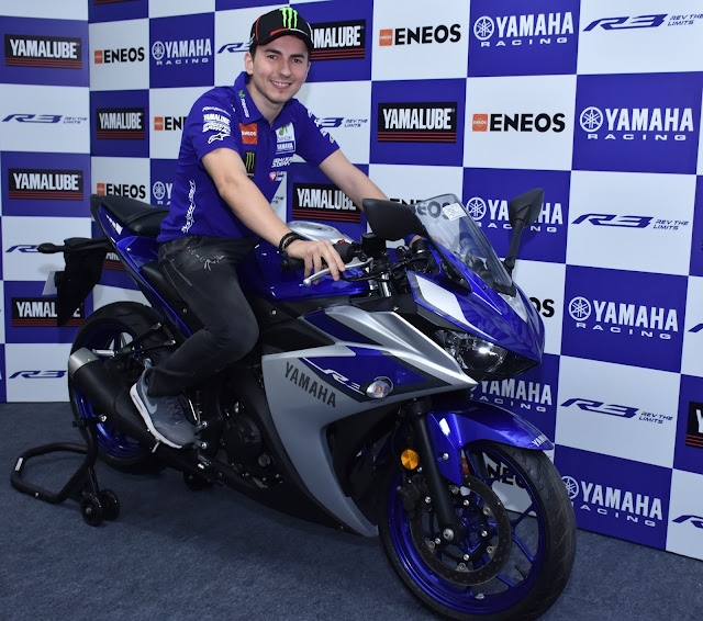 Jorge Lorenzo in India