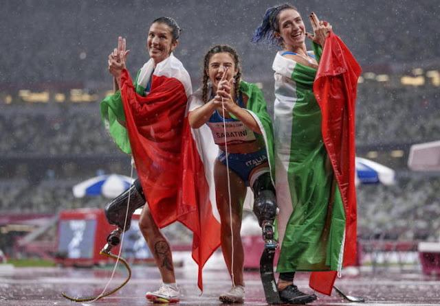 Monica Contrafatto - Ambra sabatini - Martina Caironi - Atletica 100 metri