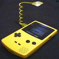 Linterna para Game Boy Color, ideal para jugar de noche y poder observar la pantalla del Nintendo