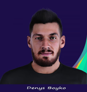 PES 2021 Faces Denys Boyko by Rachmad ABs