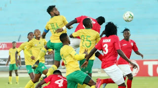 ملخص واهداف مباراة السودان وجنوب افريقيا (2-0) فى تصفيات امم افريقيا