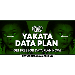 glo yakata data plan code