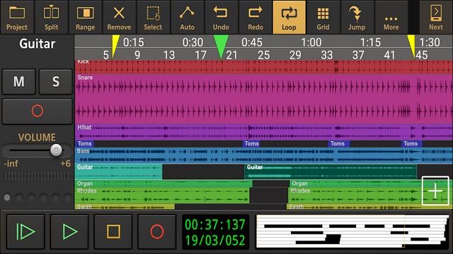 أفضل تطبيق لتأليف الموسيقى للاندرويد