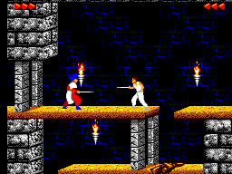 Jogue rom Prince of Persia Master System grátis