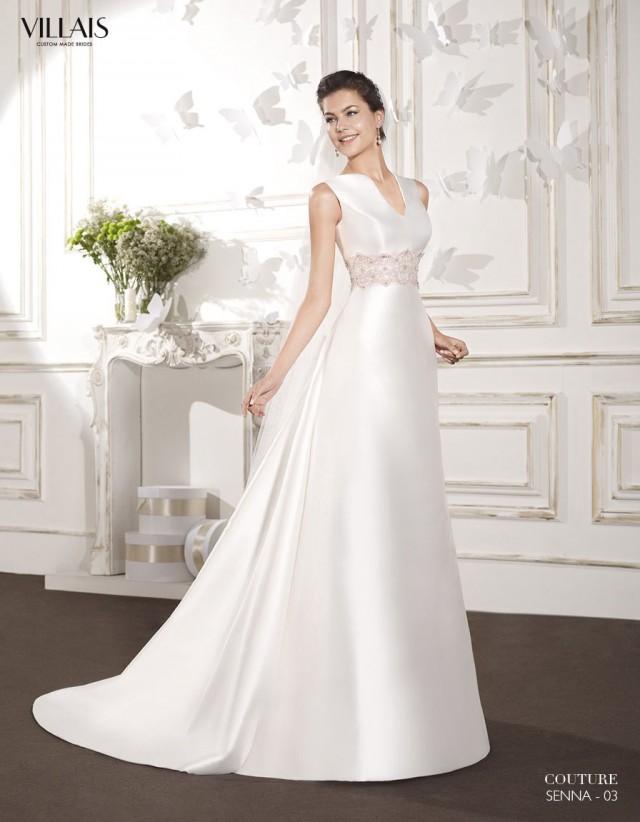 Vestidos para novia sencillos y elegantes