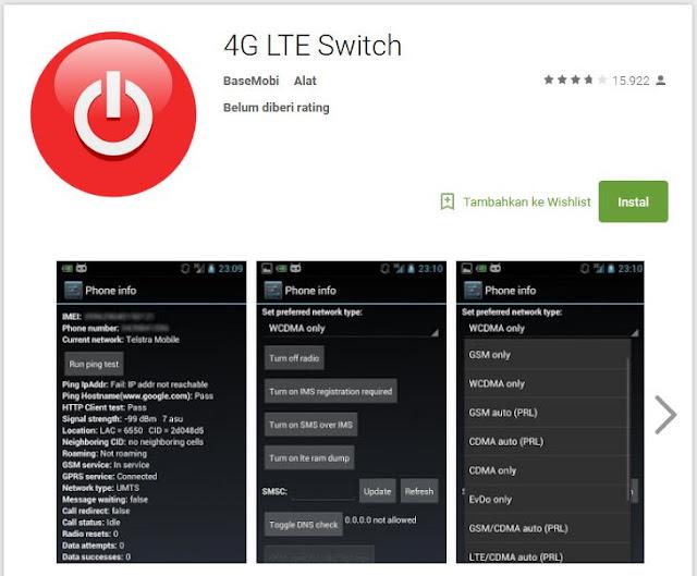 4G LTE switch
