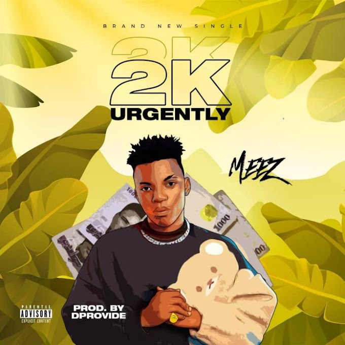DOWNLOAD MUSIC: Meez – 2K Urgently (Prod. DProvibe)