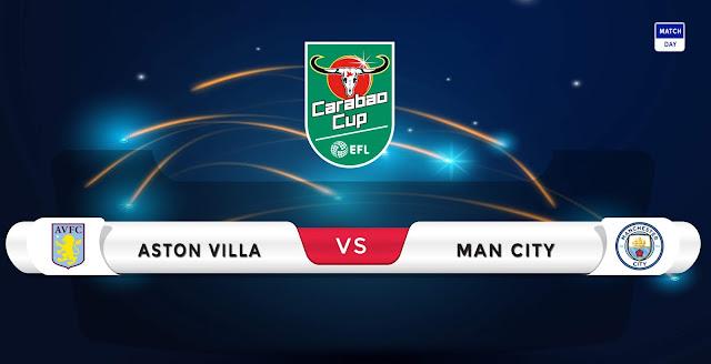 Aston Villa vs Manchester City Prediction & Match Preview
