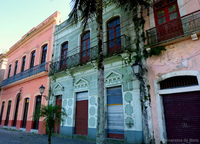 Paranaguá - Turismo histórico - Casarios da Rua da Praia