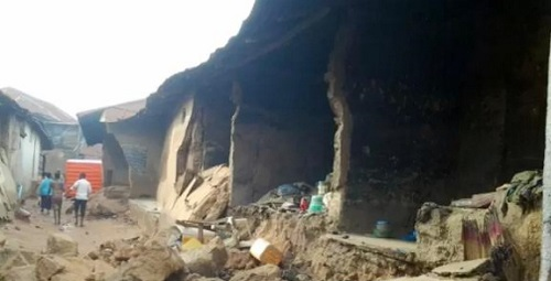 Collapsed Building Kills Pregnant Mother, 5 Year Old Daughter In Ogun