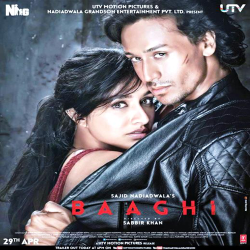 Baaghi Poster Film