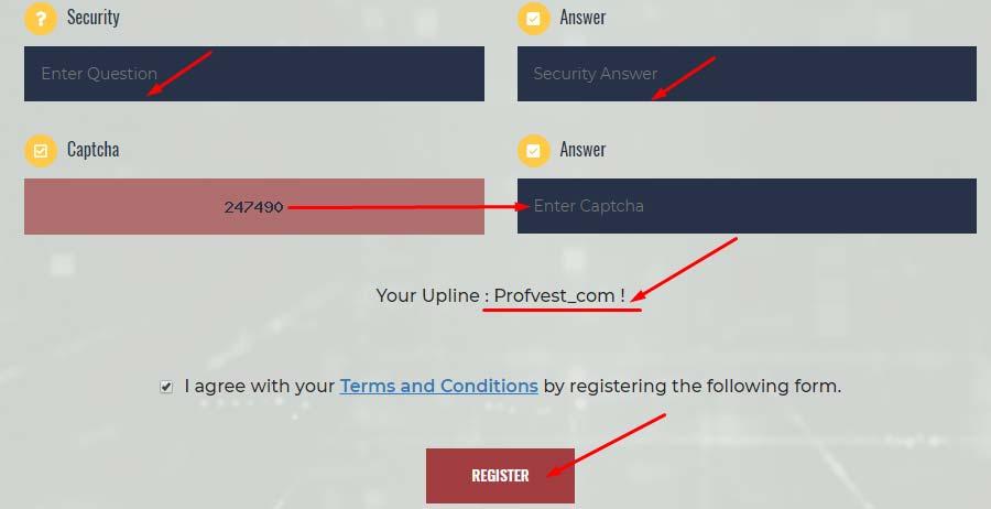 Регистрация в DepositCase 3