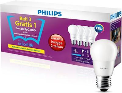 Lampu LED Merk Philips