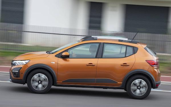 Novo Sandero obtém 2 estrelas no teste de segurança Euro NCAP
